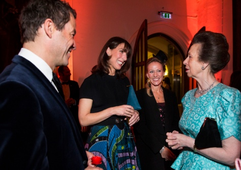 HRH The Princess Royal with Samantha Cameron